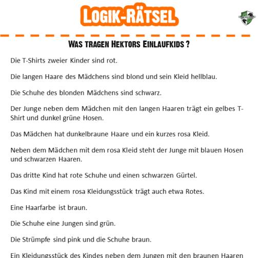 Stay Home_Logik-Rätsel